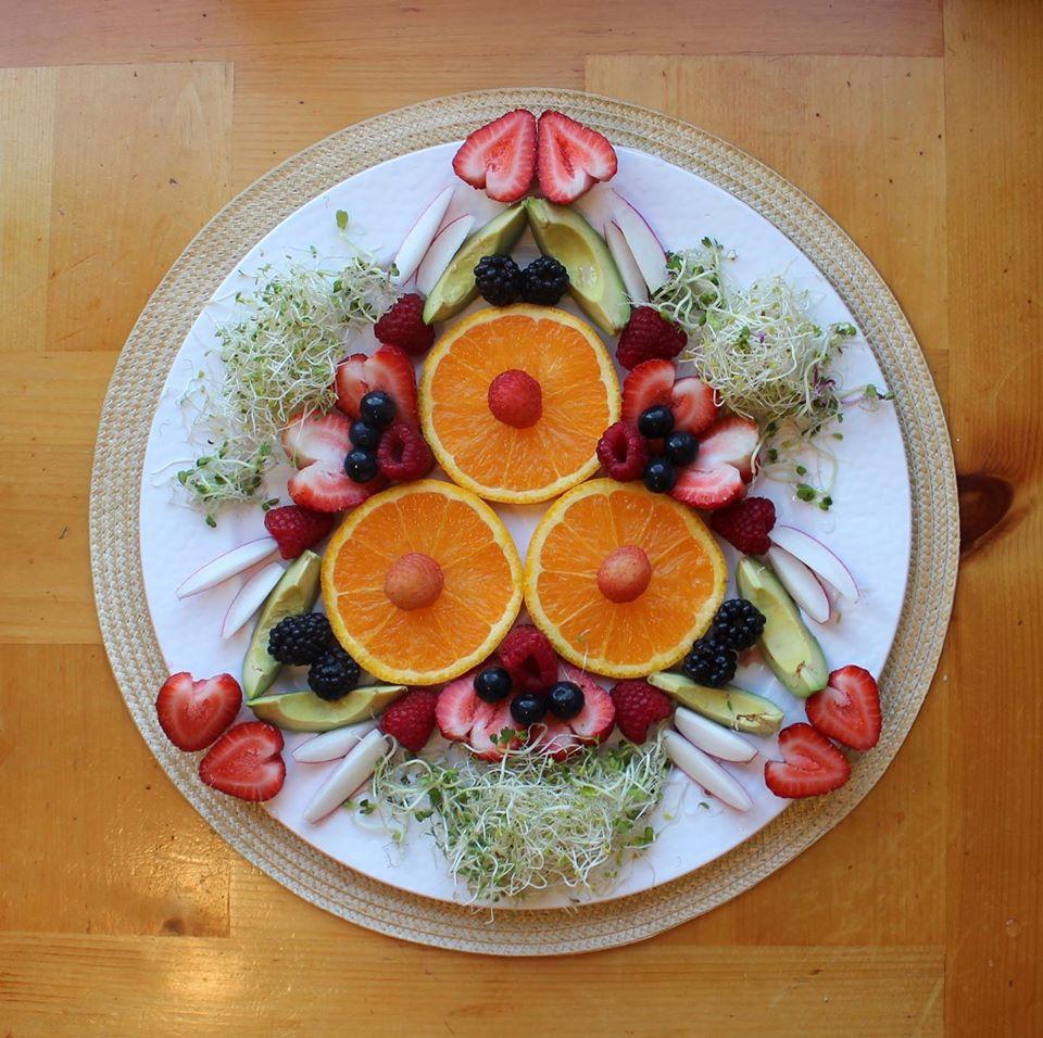 Rituel au Quotidien : Manger votre Mandala!
