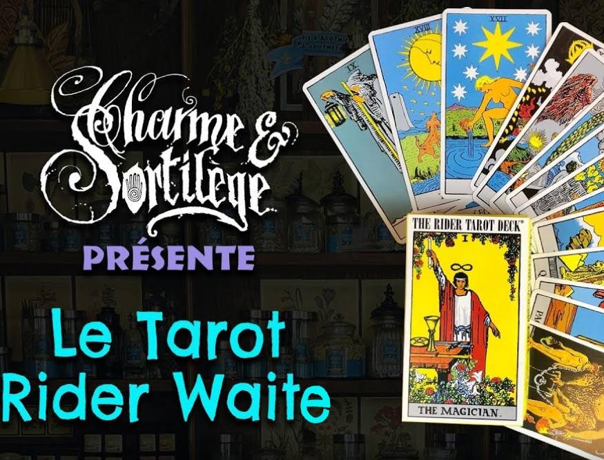 Présentation Tarots : le Rider Waite